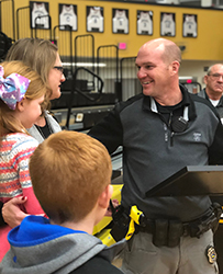 School Resource Officer for Greater Jasper Consolidated Schools Wins National LifeChanger of the Year Spotlight Award