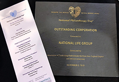 National Life Recognized For Corporate Philanthropy